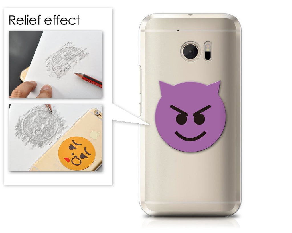 Emoji Series HTC 10 Case - Smiley Demon