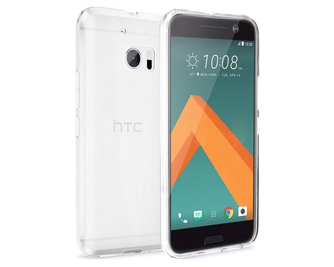 Perla Series HTC 10 Silicone Case - White
