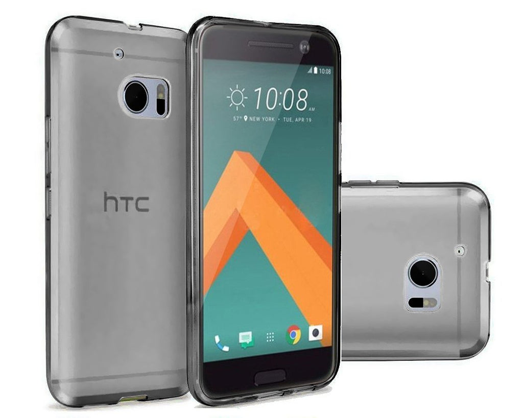 Perla Series HTC 10 Silicone Case - Gray