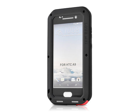 Waterproof Series HTC One A9 Metal Case - Black