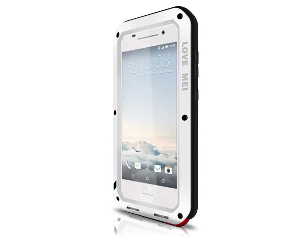 Waterproof Series HTC One A9 Metal Case - White