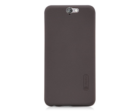 Embossed Dots Series HTC One A9 Matte Hard Case - Brown