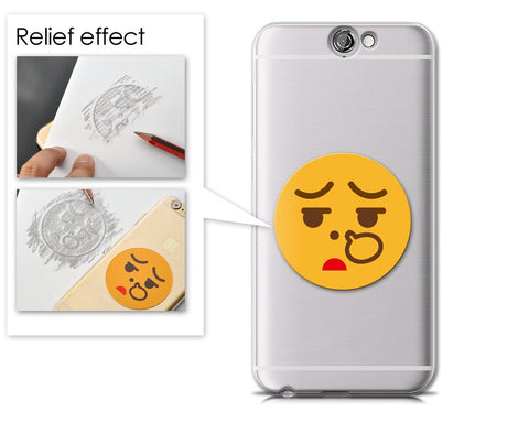 Emoji Series HTC One A9 Case - Nose Picking