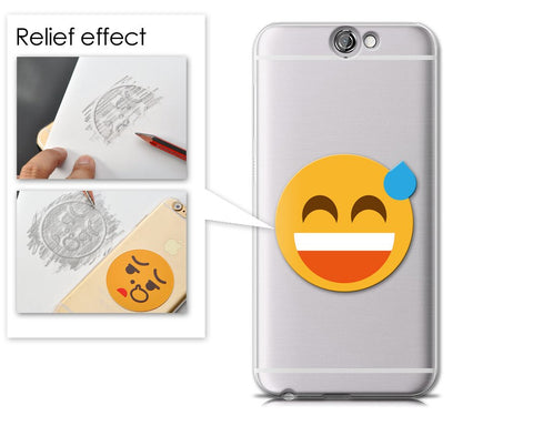 Emoji Series HTC One A9 Case - Sweat Smile