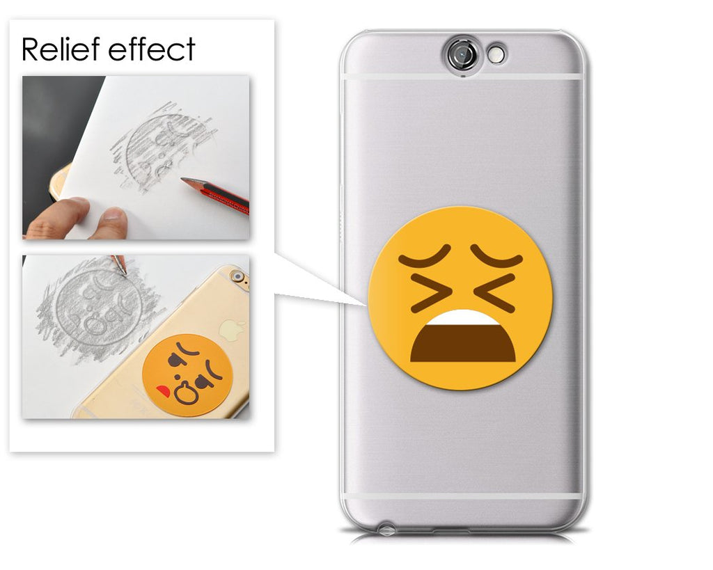 Emoji Series HTC One A9 Case - Tired