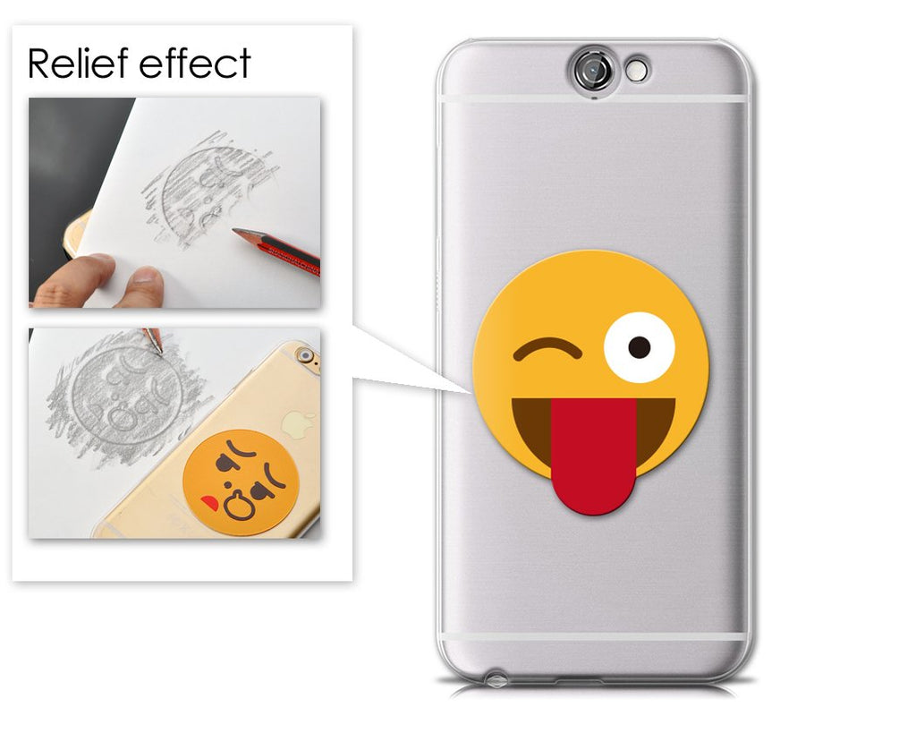 Emoji Series HTC One A9 Case - Tongue-Out Wink