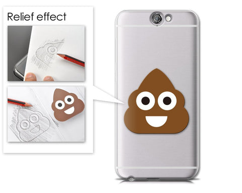 Emoji Series HTC One A9 Case - Smiley Poop