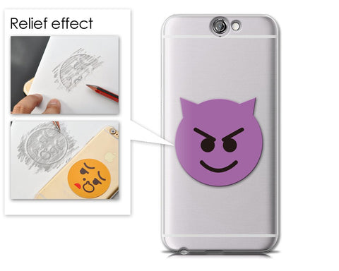 Emoji Series HTC One A9 Case - Smiley Demon