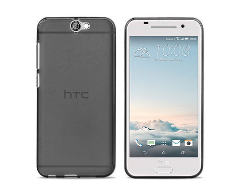 Perla Series HTC One A9 Silicone Case - Gray