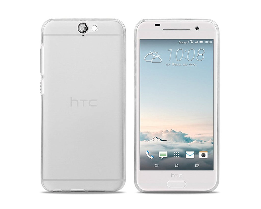 Perla Series HTC One A9 Silicone Case - White