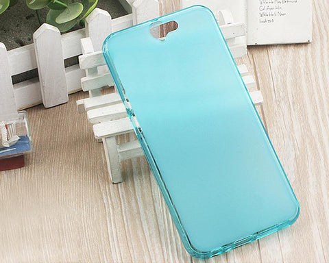 Perla Series HTC One A9 Silicone Case - Blue