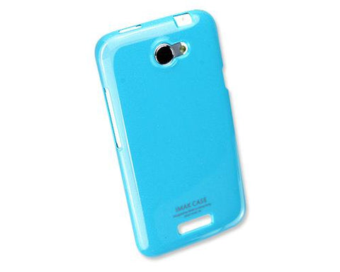 Jelly Series HTC One X Silicone Case S720e - Blue