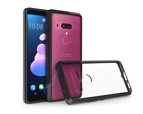 HTC U12+ Case TPU Bumper with Acrylic Back