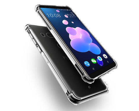 HTC U12+ Clear Case Shockproof TPU Case
