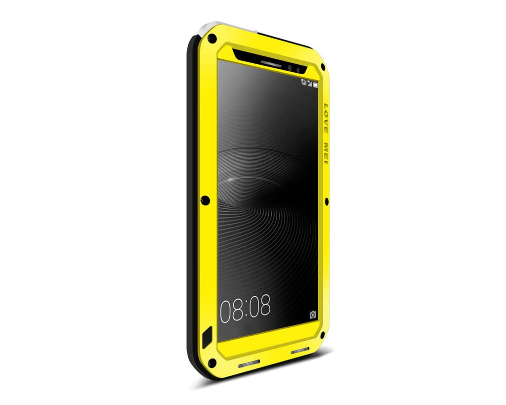 Waterproof Series Huawei Mate 8 Metal Case - Yellow