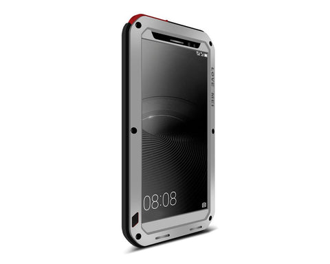 Waterproof Series Huawei Mate 8 Metal Case - Silver