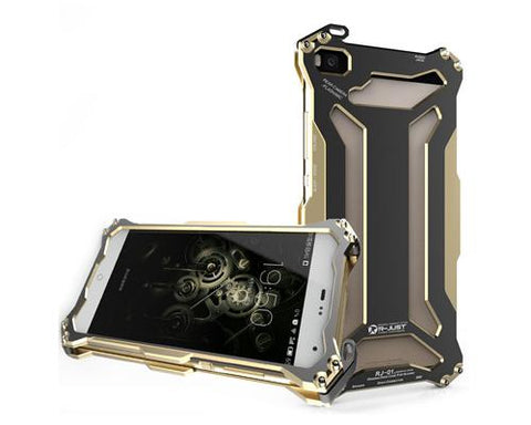 Armor Series Huawei P8 Metal Case - Champagne