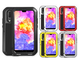 Huawei P20 Waterproof Case Shockproof Metal Phone Case