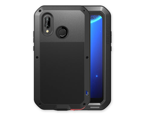 Huawei P20 Lite Waterproof Case Shockproof Metal Phone Case