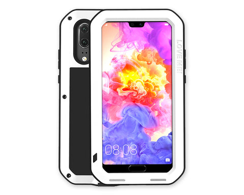 Huawei P20 Pro Waterproof Case Shockproof Metal Phone Case