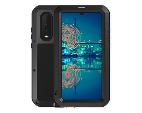 Waterproof Case Huawei P30 Shockproof Metal Phone Case