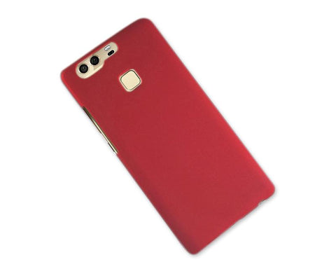 Matte Series Huawei P9 Hard Case - Red