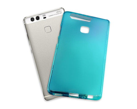 Perla Series Huawei P9 Silicone Case - Blue