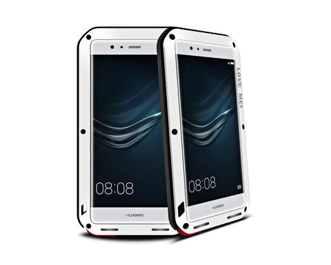 Waterproof Series Huawei P9 Plus Metal Case - White