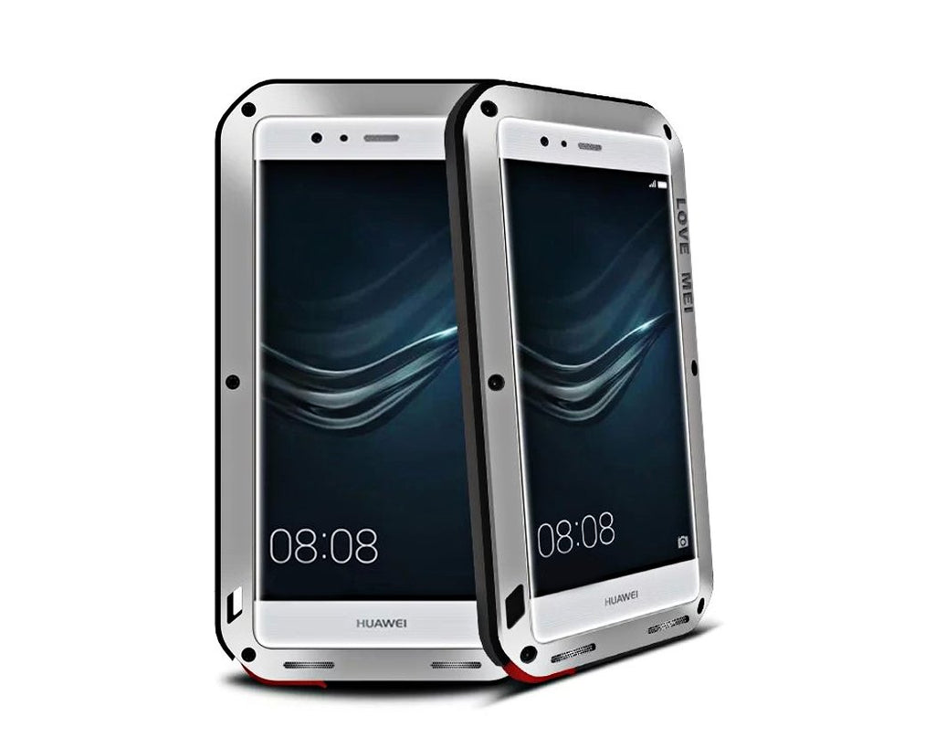 Waterproof Series Huawei P9 Plus Metal Case - Silver