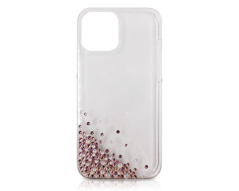 Rubble Bubble Bling Swarovski Crystal iPhone 12 Case - Purple