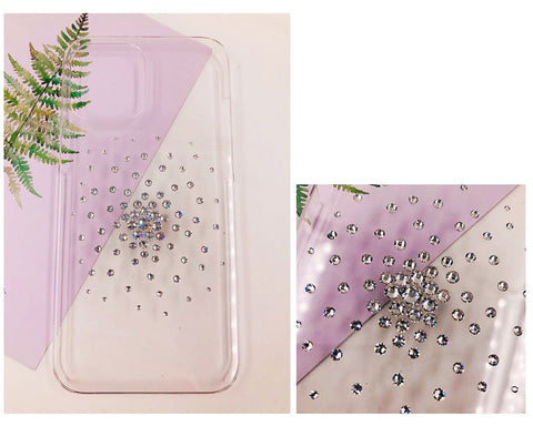 Brightening Fireworks Bling Swarovski Crystal iPhone 12 Case