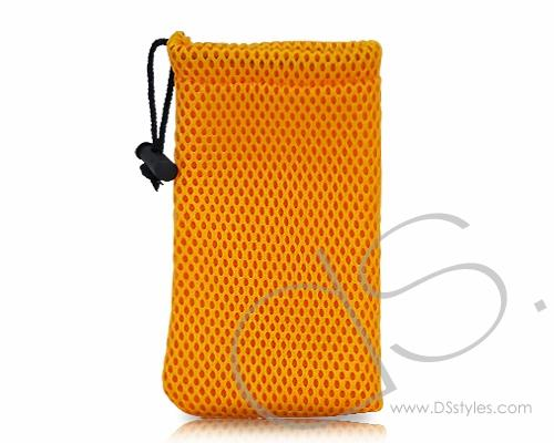 Net Series iPhone 4 and 4S Soft Pouch Case - Orange