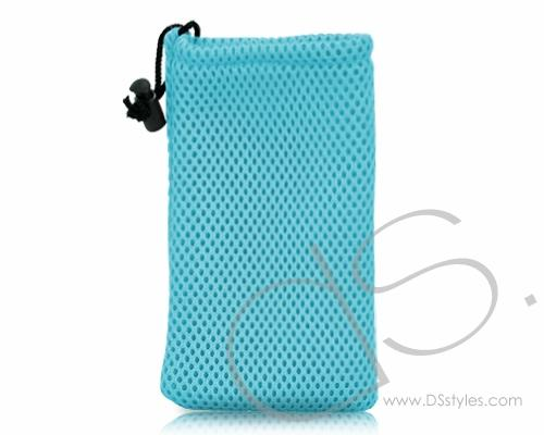 Net Series iPhone 4 and 4S Soft Pouch Case - Blue