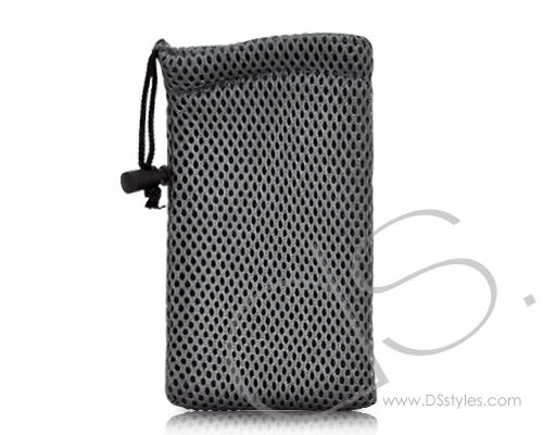 Net Series iPhone 4 and 4S Soft Pouch Case - Gray