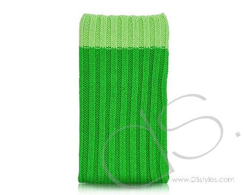 Socker Series iPhone 4 and 4S Soft Pouch Case - Green