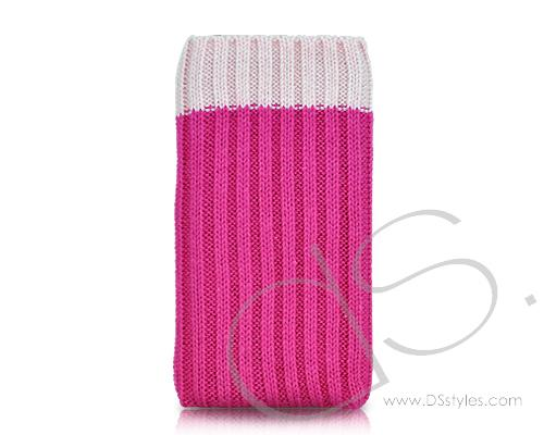 Socker Series iPhone 4 and 4S Soft Pouch Case - Pink