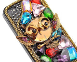 3D Animal Series iPhone 4 and 4S Crystal Case - Owl