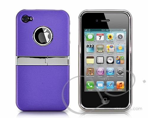 Brace-Pro Series iPhone 4 and 4S Case - Purple