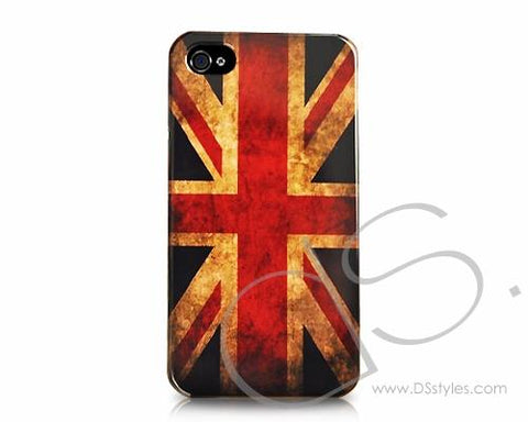 Retro National Flag Series iPhone 4 and 4S Case - United Kingdom