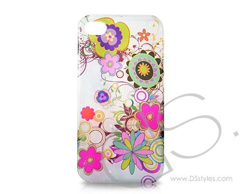 3D Raindrop Series iPhone 4 and 4S Case - Blossom
