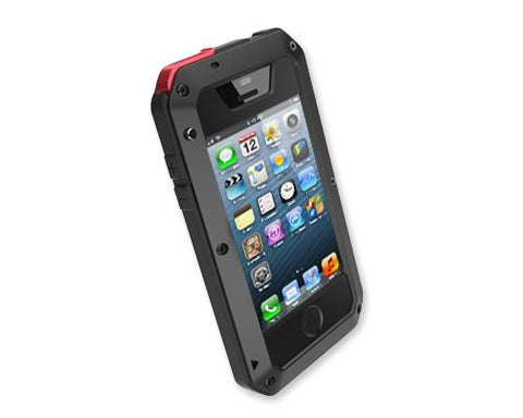 Waterproof Series iPhone 4 and 4S Metal Case - Black