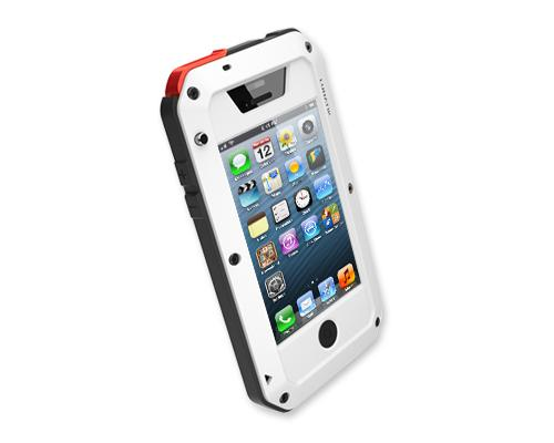 Waterproof Series iPhone 4 and 4S Metal Case - White