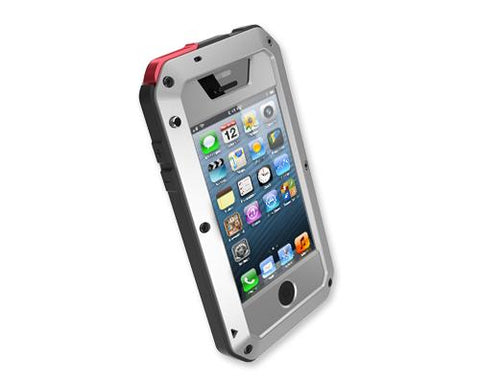 Waterproof Series iPhone 4 and 4S Metal Case - Silver