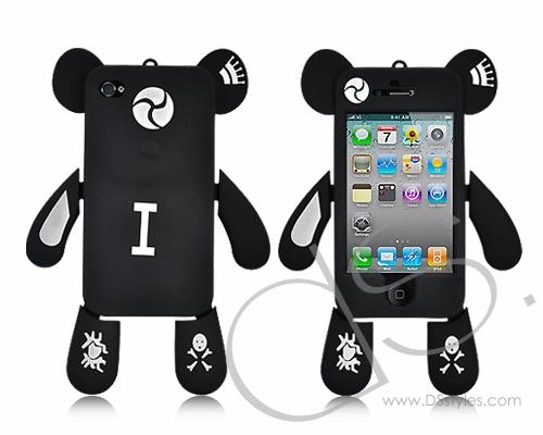 Dream Series iPhone 4 and 4S Silicone Case - Black