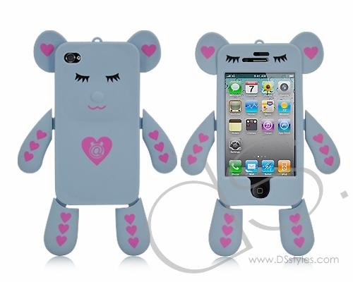 Dream Series iPhone 4 and 4S Silicone Case - Gray