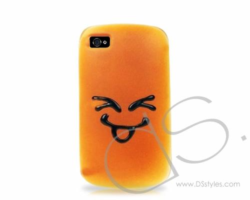 Bread Series iPhone 4 Silicone Case - Excited