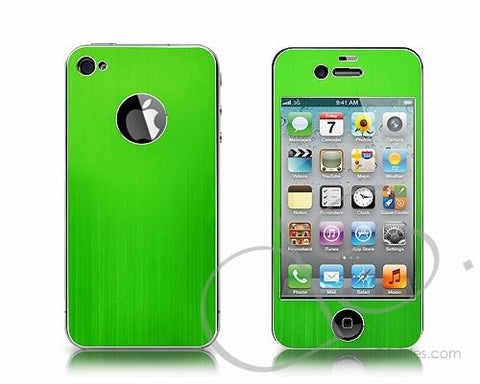 Palo Series iPhone 4 and 4S Aluminum Skin - Green