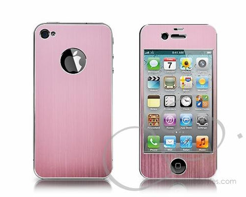 Palo Series iPhone 4 and 4S Aluminum Skin - Pink