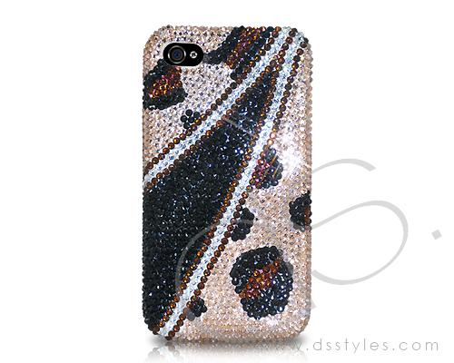Zipper Bling Crystal Phone Cases