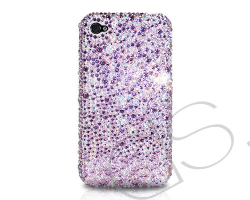Scatter Bling Swarovski Crystal iPhone 8 Plus Cases - Purple